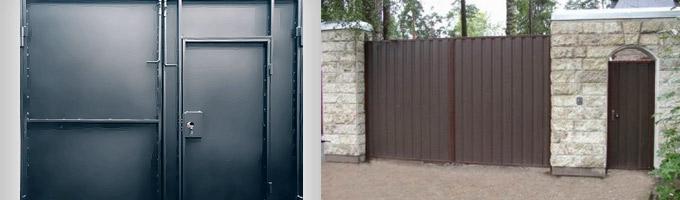 Изготовление дверей, изготовление ворот. Строительные двери в Самаре.